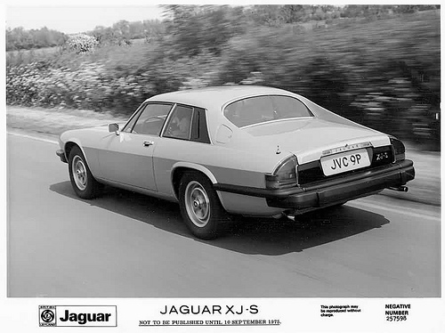 The XJ-S in launch specification