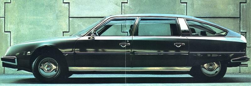 1976 Citroen CX Prestige Profile