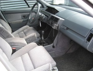 1990 Citroen XM arctic white interior