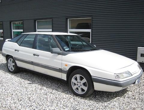 1990 Citroen XM arctic white