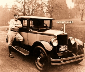 Car and Babe (Ruth)