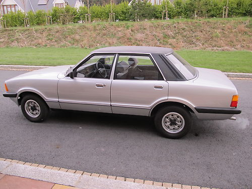 1983 Ford Cortina 1.6 L. Is this more exciting than an Ascona?