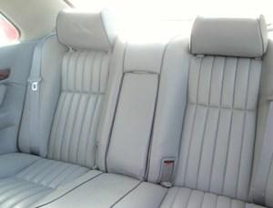 1993 Rover 827 interior