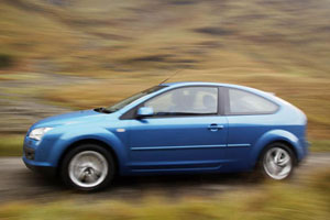 2004 Ford Focus blue