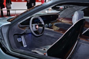 2014 Quant-E interior: rather excessively excessive?