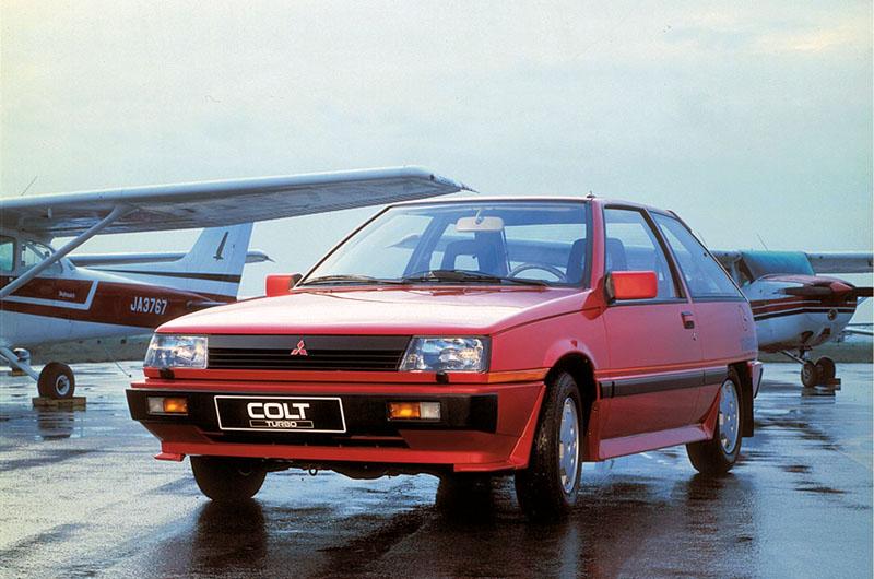 1984 Mitsubishi Colt turbo