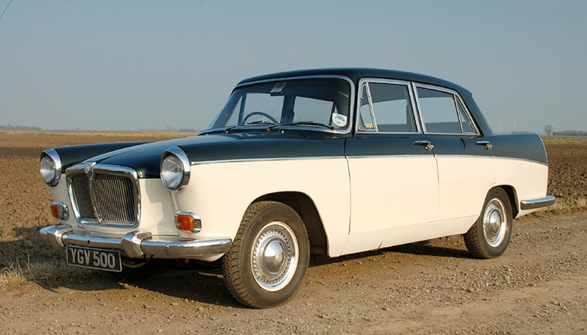 1968 MG Magnette: engineers worked on that badge