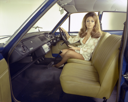 1971 Morris Marina interior. Spacious and simple.