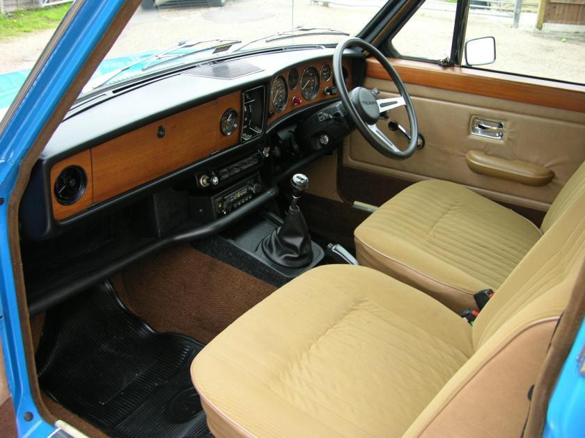 1974 Triumph DolomiteS Sprint.