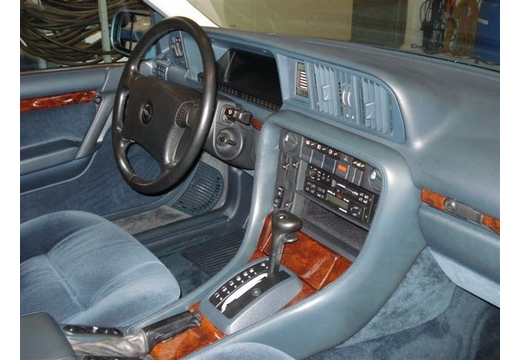 1989 Opel Senator interior: finally, it´s the modern idiom.