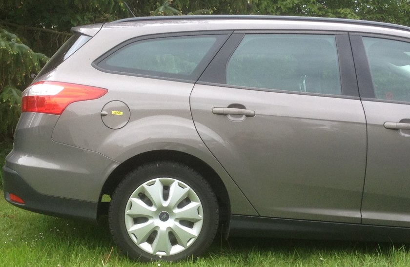 2012 Ford Focus rear 1