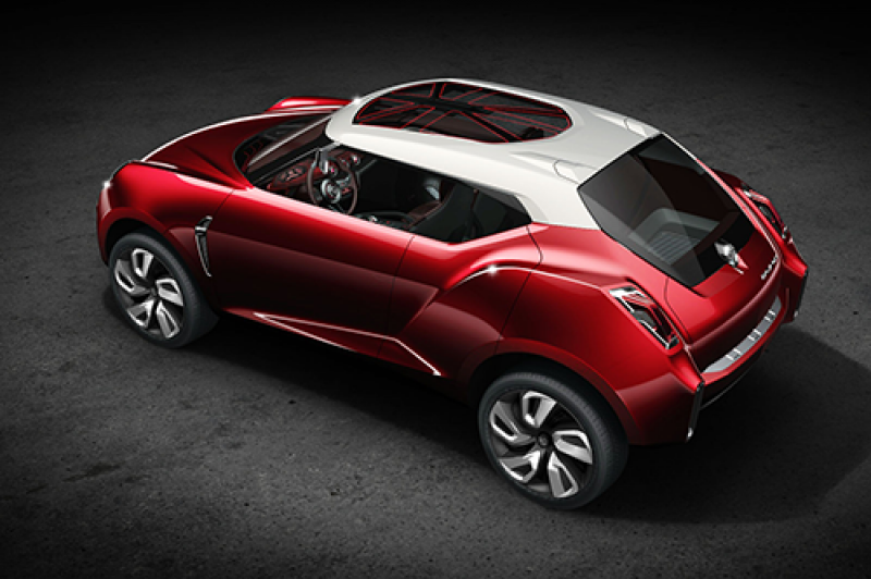 2014 MG Icon concept: they are not building this