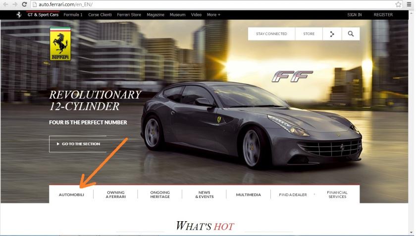 Grey Ferrari
