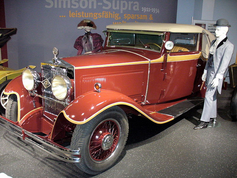 1931 Simson Supra V8