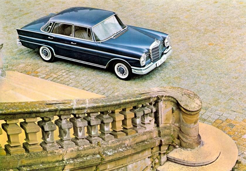 1960s Mercedes S-class