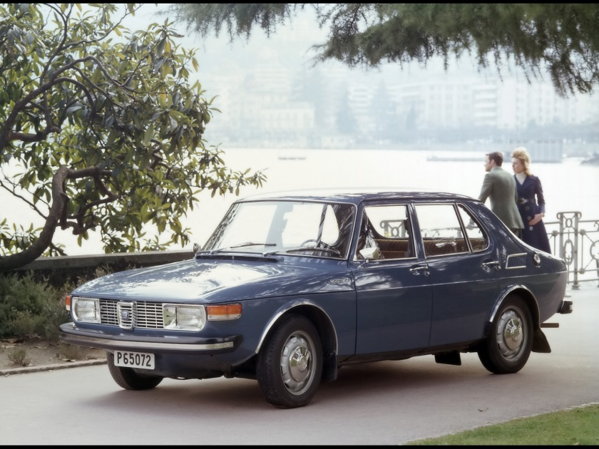 Philip Stamberly´s Saab: at the Modern Engineering conference, Lugano, 1969
