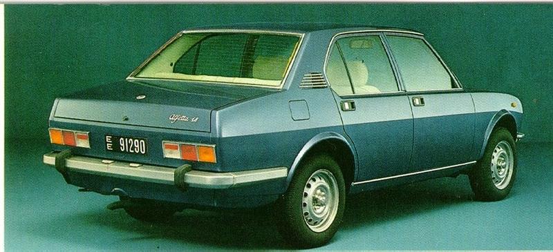 1973 Alfa Romeo Alfetta rear