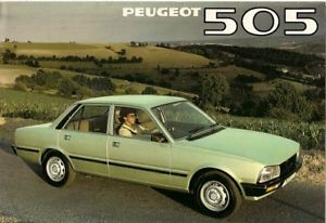 1979 Peugeot 505 brochure