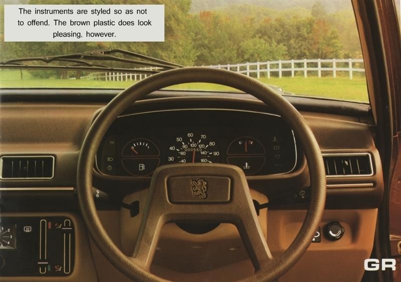 1979 Peugeot 505 dashboard