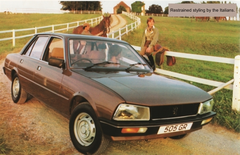 1979 Peugeot 505 front three quarter