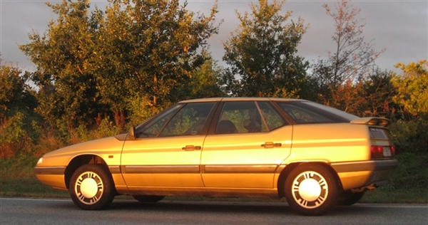 1988 Citroen XM by Bertone (example shown is a 1990 model)