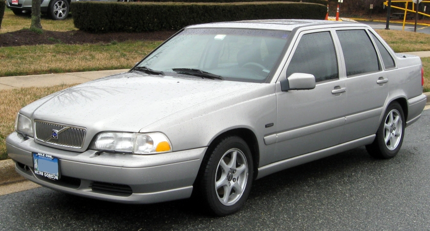 1998 Volvo S70: drab