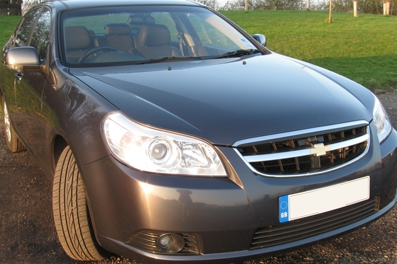 2010 Chevrolet Epica frontal view