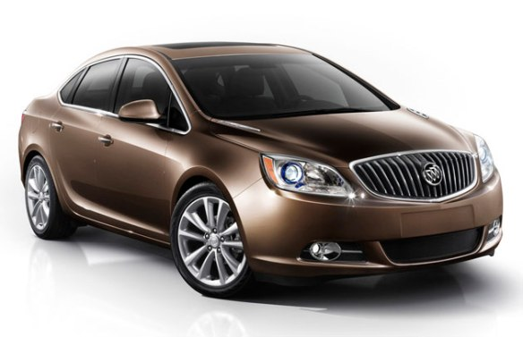 2012 Buick Verano: engineered in Germany and the US and sold in China