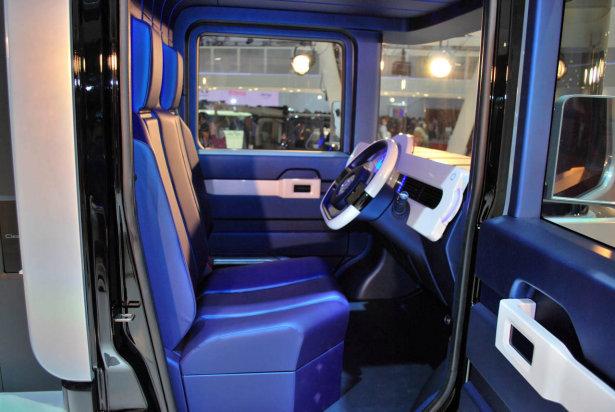 2013 Daihatsu FC Deck concept interior