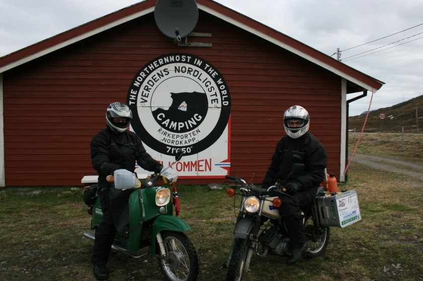 2014 Nordkapp with motor bikes