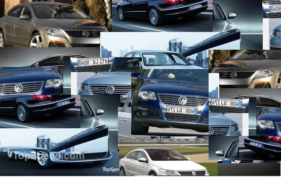 2014 Passat collage