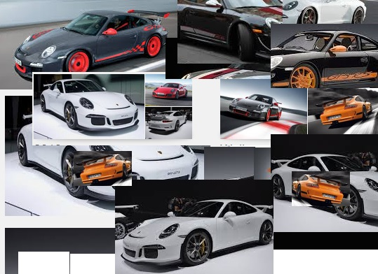 2014 Porsche collage