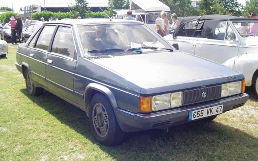 1980 Talbot Tagora a car show