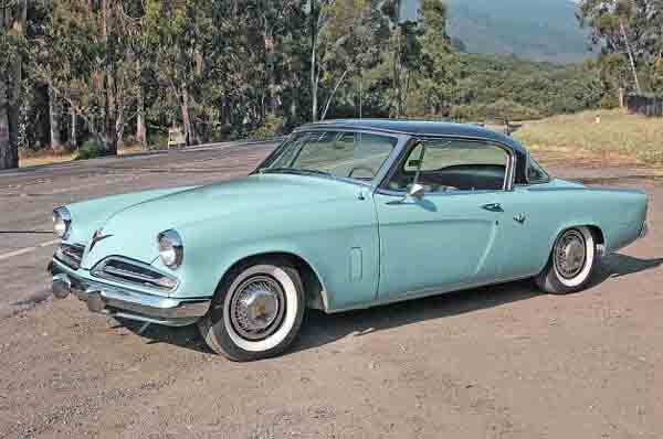 53 Studebaker Starliner Side