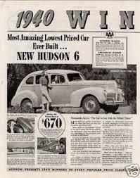 1940 Hudson ad