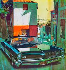 1960 Pontiac advertisement by Fitz and Van.