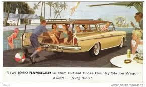 1960 Rambler: lifestyle!