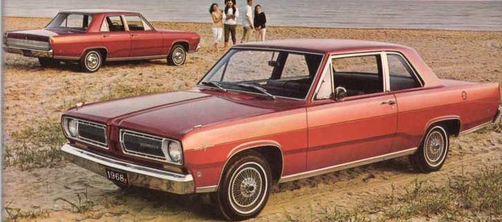 Thanks to www.valiant.org for this photo. 1968 Plymouth Valiant.