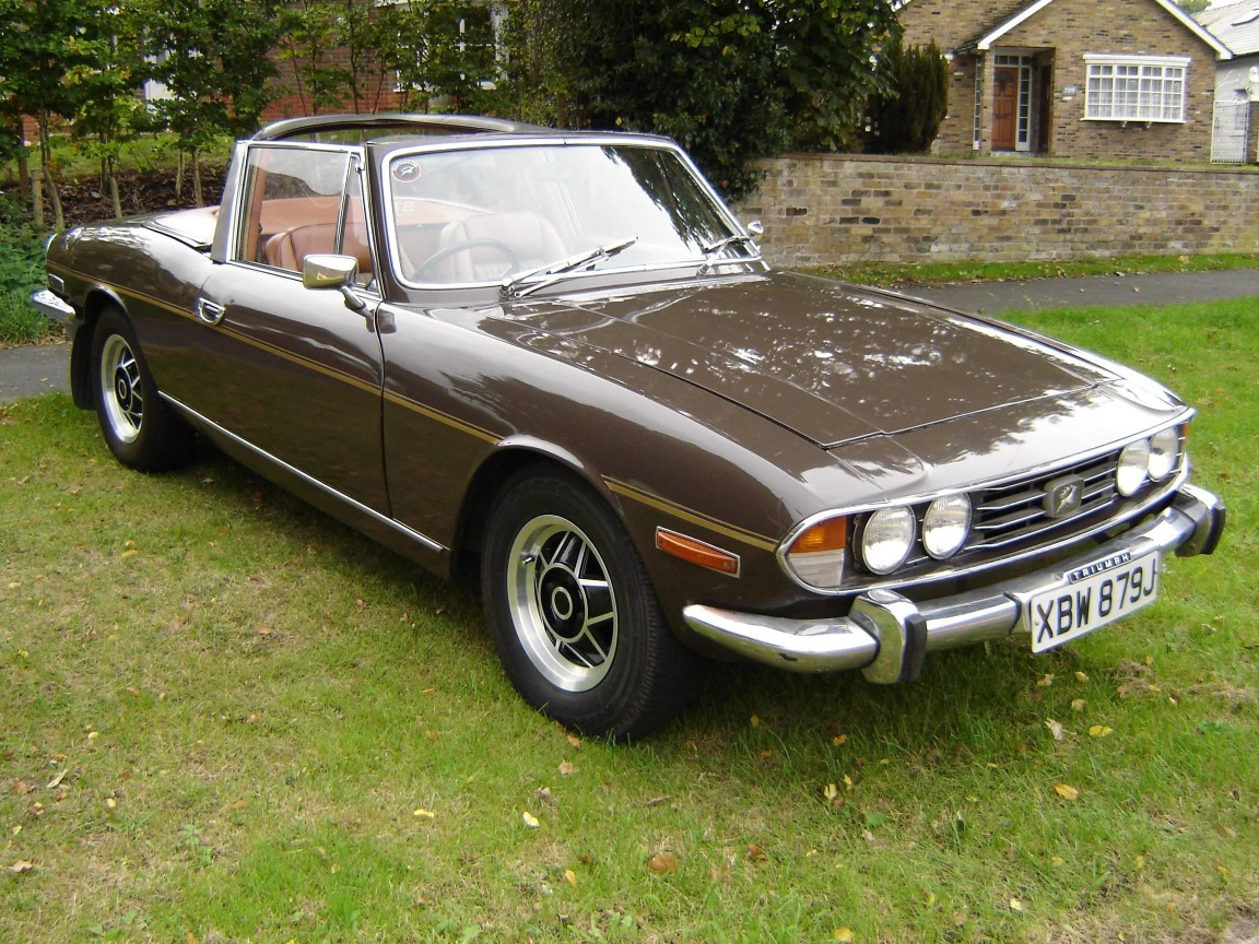 Theme Engines The 1970 Triumph Stag V8 Driven To Write