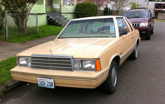 1981 Plymouth Reliant. Imagine: they made this until 1989 and people bought it too.
