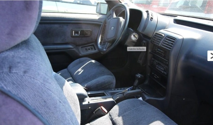 1991 Chrysler LeBaron interior