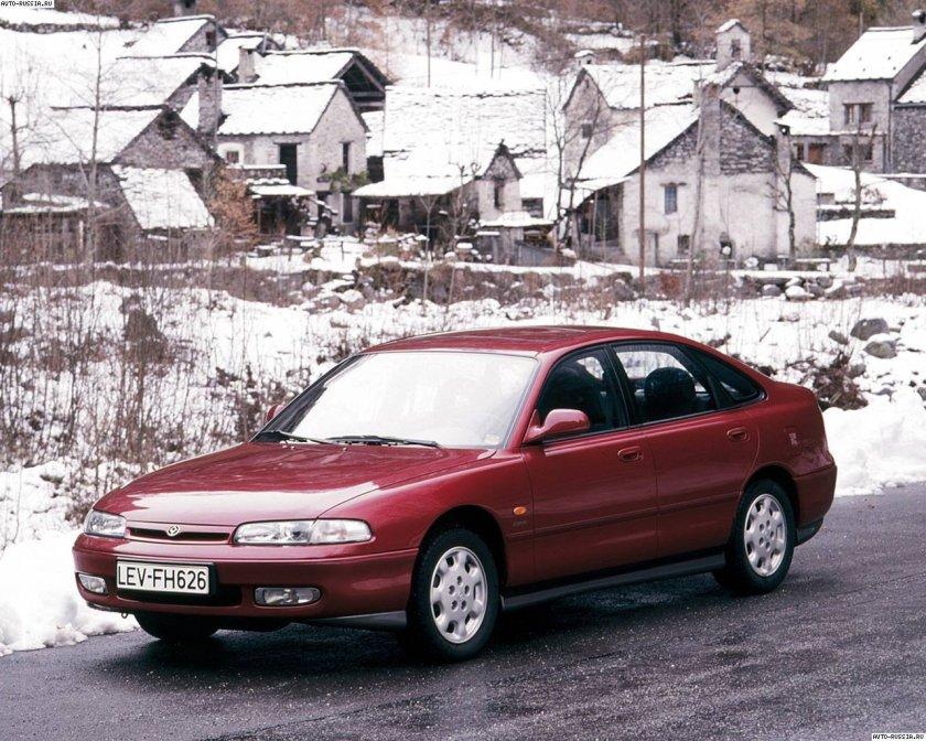 1992 Mazda 626 V6: one for trivia fans.