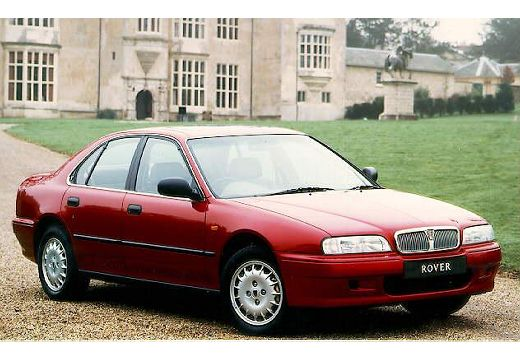 1995 Rover 600 in its supposed natural setting.