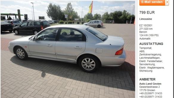2001 Kia Magentis V6
