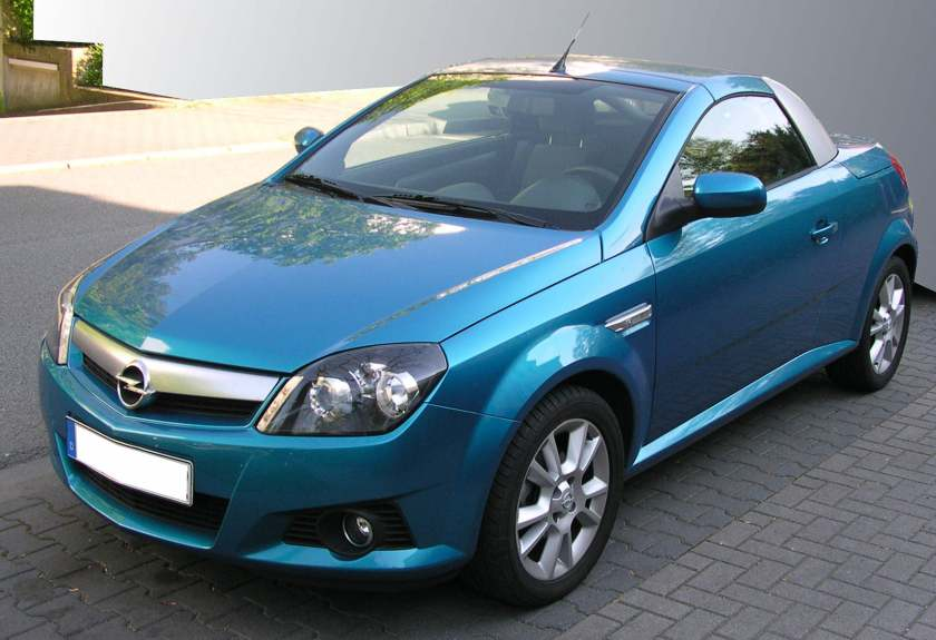 2004 Opel Tigra. Image courtesy of Wikipedia