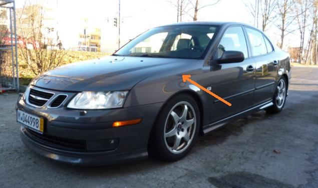 2007 Saab 9.3 V6