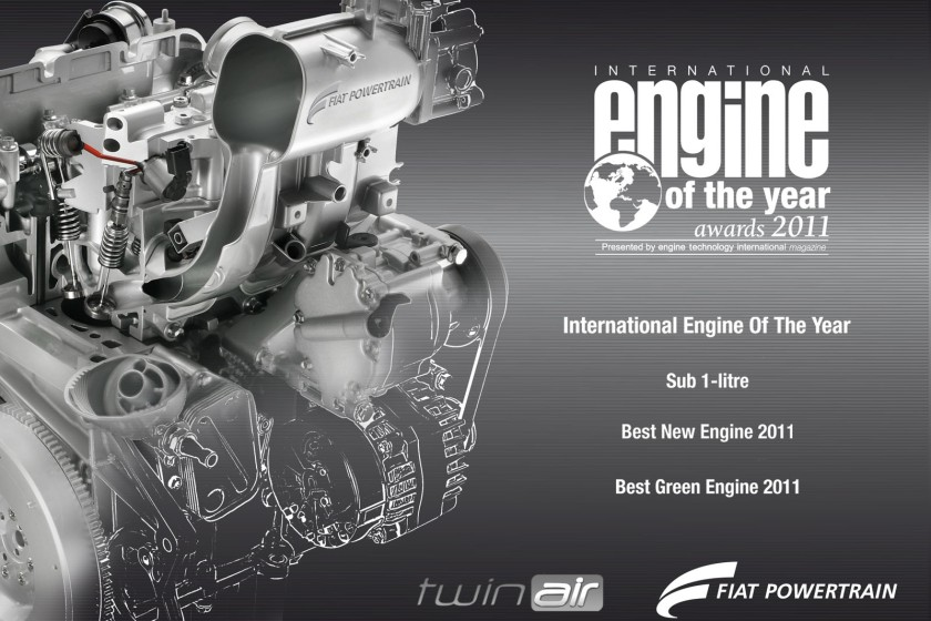 2011 Fiat Twin-Air engine. It has been a success.