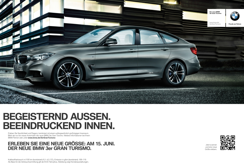 2014 BMW 3 GT