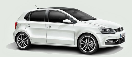 2014 VW Polo; it probably has a 1.4 litre motor fitted.