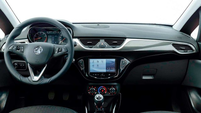 2015 Opel Corsa interior: image from Motoring Research.com